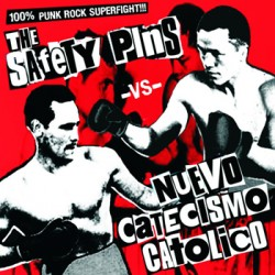 "NUEVO CATECISMO CATOLICO / SAFETY PINS ""Split"" CD"