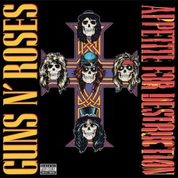 "GUNS N'ROSES ""Appetite For Destruction"" LP."
