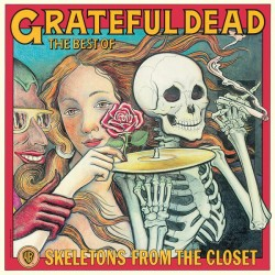 "GRATEFUL DEAD ""The Best Of - Skeletons From The Closet"" LP."