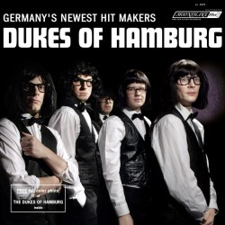 """DUKES OF HAMBURG """"Germany's Newest Hit Makers"""" LP Color."""
