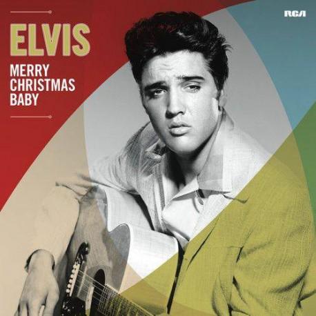 """ELVIS PRESLEY """"Merry Christmas Baby"""" LP."""
