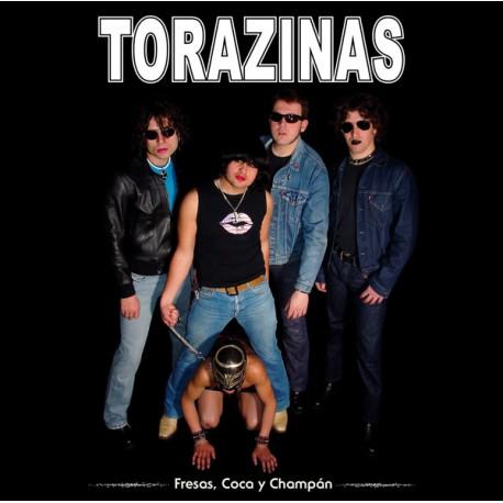 """TORAZINAS """"Fresas, Coca Y Champán"""" LP Color Oro."""