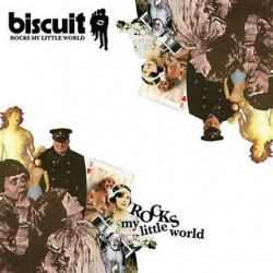 "BISCUIT ""Rocks My Little World"" LP H-Records"