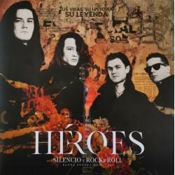 """HEROES DEL SILENCIO """"Silencio Y Rock'n'Roll"""" 2LP + 2CD."""