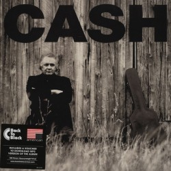 """JOHNNY CASH """"American II: Unchained"""" LP."""