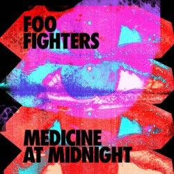 "FOO FIGHTERS ""Medicine At Midnight"" LP Color Blue."