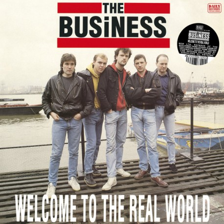 """BUSINESS """"Welcome To The Real World"""" LP."""