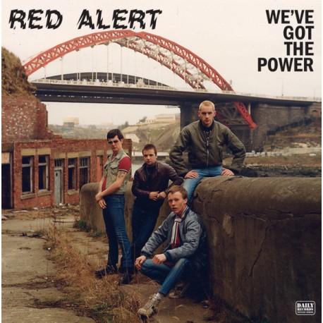 "RED ALERT ""We'Ve Got The Power"" LP."