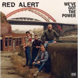 """RED ALERT """"We'Ve Got The Power"""" LP Color."""