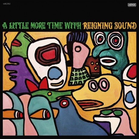 """REIGNING SOUND """"A Little More Time With..."""" LP."""
