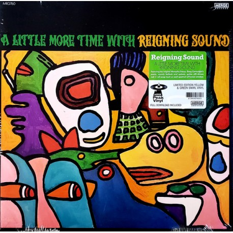 """REIGNING SOUND """"A Little More Time With..."""" LP Color."""