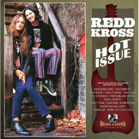 "REDD KROSS ""Hot Issue"" LP Color Neon Green."
