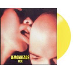 """LEMONHEADS """"Lick"""" LP Color Yellow RDS2021."""
