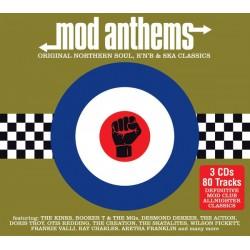 "VV.AA. ""Mod Anthems: Original Northern Soul, R'n'B & Ska Classics"" 3CD."