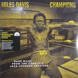 """MILES DAVIES """"Champions"""" LP Color RSD2021."""