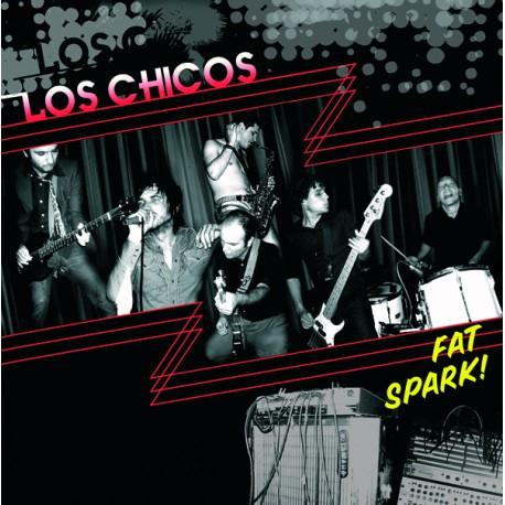 """LOS CHICOS """"Fat Spark!"""" LP Color Marble RSD2021."""