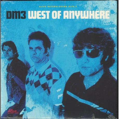 """DM3 """"West Of Anywhere"""" LP."""