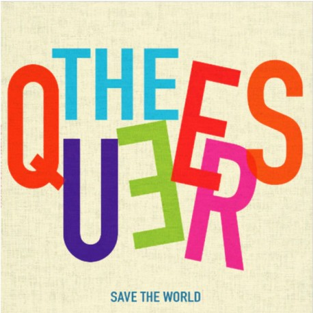 """QUEERS """"Save The World"""" LP Color Blue."""