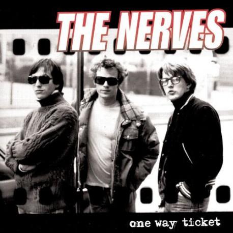 "NERVES ""One Way Ticket"" LP."