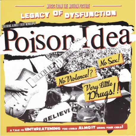 "POISON IDEA ""Legacy Of Dysfunction"" LP."