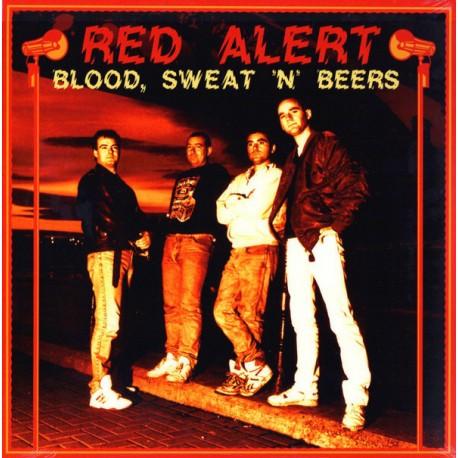 """RED ALERT """"Blood, Sweat'n'Beers"""" LP."""