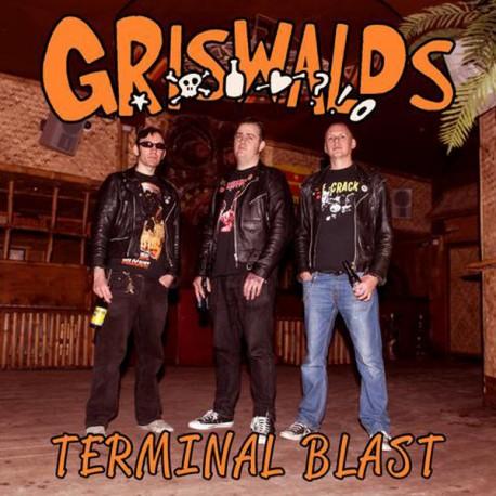 "GRISWALDS ""Terminal Blast"" LP."