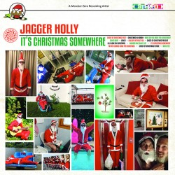 """JAGGER HOLLY """"It's Christmas Somewhere"""" LP."""