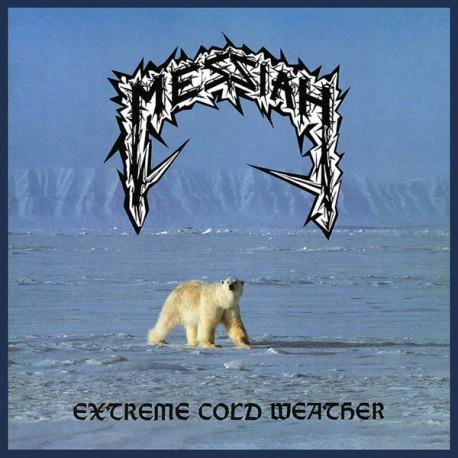 "MESSIAH ""Extreme Cold Weather"" LP Color Snow."