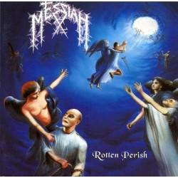"MESSIAH ""Rotten Perish"" LP Color Electric Blue."