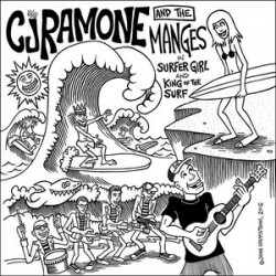 "CJ RAMONE & THE MANGES ""Surfer Girl"" SG 7"""