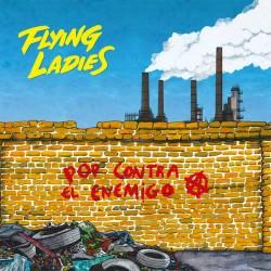 """FLYING LADIES """"Pop Contra El Enemigo"""" LP."""