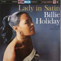 """BILLIE HOLIDAY & RAY ELLIS ORCHESTRA """"Lady In Satin"""" LP."""
