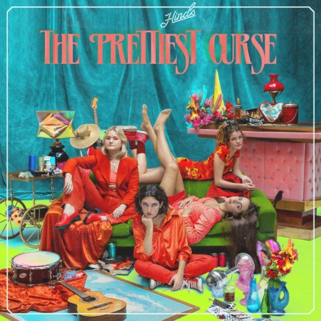 """HINDS """"The Prettiest Curse"""" CD."""