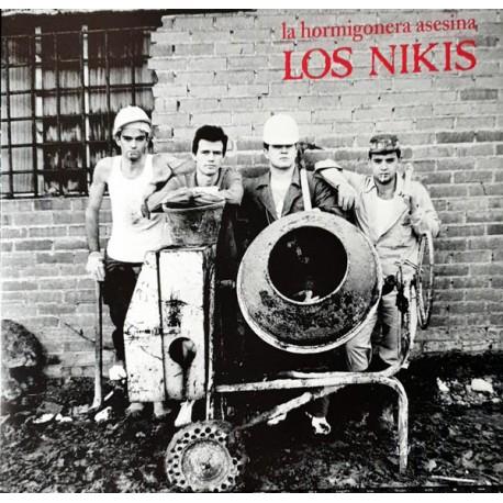 "LOS NIKIS ""La Hormigonera Asesina"" LP + CD."