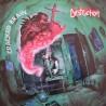 """DESTRUCTION """"Cracked Brain"""" LP Color Coke Bottle."""