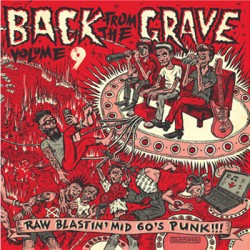 "VV.AA. ""Back From The Grave Vol. 9"" LP Crypt"