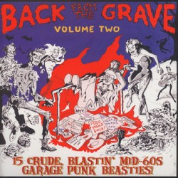 "VV.AA. ""Back From The Grave Vol. 2"" LP Crypt"
