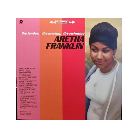 "ARETHA FRANKLIN ""Tender, Moving, Swinging..."" LP Waxtime"