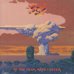 """YES """"Like It Is: At The Mesa Arts Center"""" 2LP"""