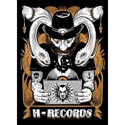 """CAMISETA H-RECORDS """"Serpientes"""" Tallaje Mujer Nueva 2016"""
