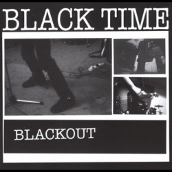 """BLACK TIME """"Blackout"""" CD In The Red Records"""
