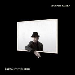 """LEONARD COHEN """"You Want It Darker"""" CD"""