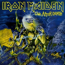 """IRON MAIDEN """"Live After Death"""" 2LPs 180 Gramos"""
