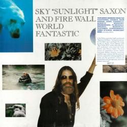 "SKY ""SUNLIGHT"" SAXON & FIRE WALL ""World Fantastic"" LP"
